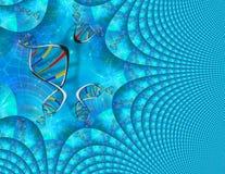 脱氧核糖核酸遗传学 向量例证