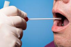脱氧核糖核酸, DNS测试,抹测试 免版税图库摄影
