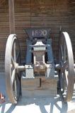 脱离战争的老大炮1890 库存图片
