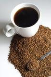 脱除咖啡因的咖啡 库存图片