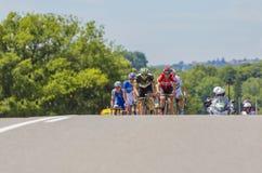 脱离-环法自行车赛2017年 图库摄影