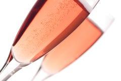 脸红香槟 免版税图库摄影