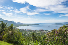 腊包尔,巴布亚新几内亚 免版税库存图片