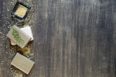 腌制槽用食盐肥皂 库存图片