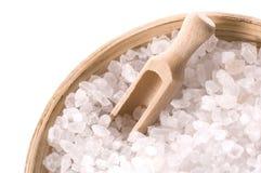 腌制槽用食盐 免版税图库摄影