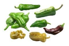 腌制的胡椒,道路 免版税库存图片
