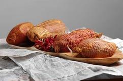 腌火腿用匈牙利红色辣椒粉 图库摄影