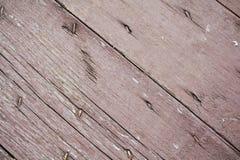 腐朽桃红色葡萄酒摘要背景和纹理的木头 免版税库存照片