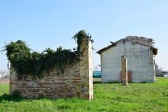 腐朽的墙壁威尼托,意大利 库存图片