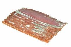 腐烂的切片肉 库存图片