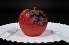 腐烂的苹果 图库摄影