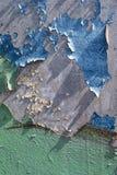 腐蚀的金属墙壁 免版税库存图片