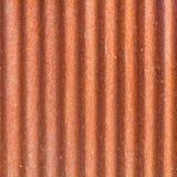 腐蚀金属屋顶锌 库存图片