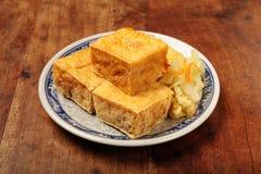 腐败的豆腐 免版税库存图片