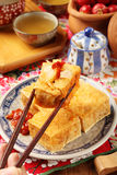 腐败的豆腐 免版税库存照片