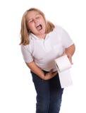 腹泻 免版税图库摄影