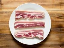 腹部猪肉 免版税库存照片