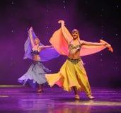 腹部舞蹈家土耳其腹部舞蹈这奥地利的世界舞蹈 免版税库存图片