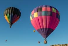 腾飞在天空在加利福尼亚 库存图片