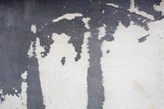 膏药墙壁;装饰膏药;水泥样式 免版税库存照片
