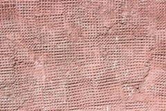 膏药水泥和具体红色 库存照片