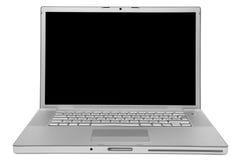 膝上型计算机现代时髦 免版税库存照片