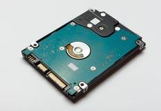 从膝上型计算机的硬盘 高度9 毫米 免版税库存图片