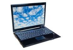 膝上型计算机笔记本 免版税图库摄影