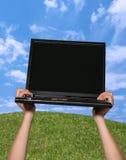 膝上型计算机 免版税图库摄影