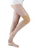 膝盖氯丁胶技术支持 免版税库存照片