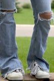 膝盖祈祷 免版税库存图片