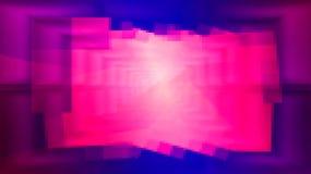 膨胀的几何空间 库存照片