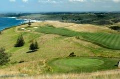 膨胀的高尔夫球 免版税库存照片