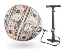 膨胀货币 库存图片