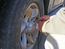 膨胀轮胎 运输,通货膨胀 免版税库存照片