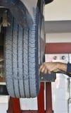 膨胀轮胎 图库摄影