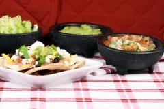 膳食墨西哥理想的炸玉米饼 免版税库存图片