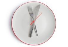 膳食时间 库存照片
