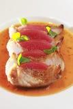 膳食猪肉 免版税图库摄影