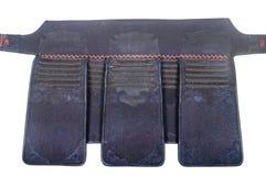 臀部`包装重量`的保护装甲日本操刀的Kendo的 库存照片
