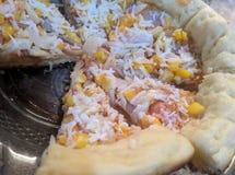 自创乳酪薄饼 库存照片