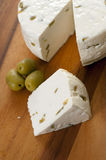 自创乳酪 免版税图库摄影