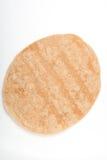 自创在白色的全麦墨西哥玉米粉薄烙饼 库存图片
