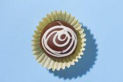 自创块菌状巧克力 叫作Camafeu在巴西 顶上 免版税库存照片