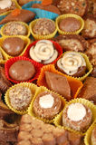 自创块菌状巧克力 库存图片