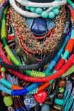 自创小珠首饰-储蓄图象 库存照片