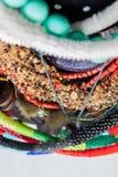 自创小珠首饰-储蓄图象 库存图片