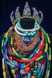 自创小珠首饰-储蓄图象 免版税库存照片