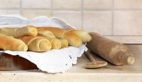 自创开胃的面包 库存图片