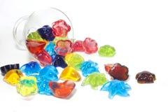 自创果冻的糖果 库存图片